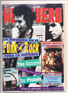 Revista El Musiquero N°102 Punk Rock The Ramones Sex Pistols