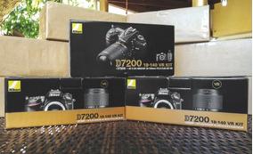 Nikon D7200 24mp Kit 18-140 C/ 2 Baterias (pronta Entrega)