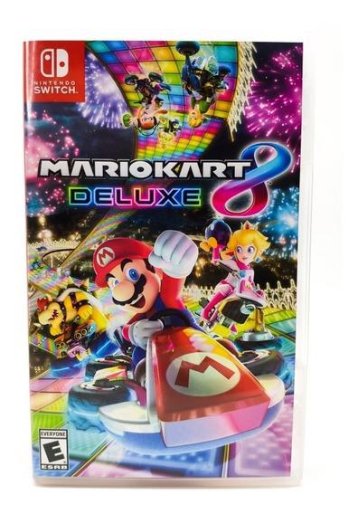 Jogo Mario Kart 8 Deluxe - Nintendo Switch - Mídia Física