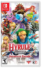 Hyrule Warriors Definitive Edition Midia Fisica - Switch