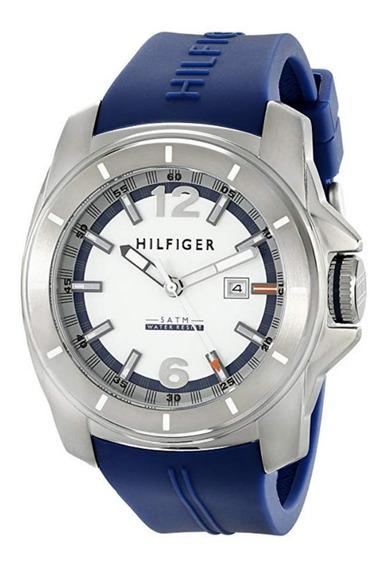 Relógio Tommy Hilfiger 1791113 Aço Inox 46mm 12xs/juros Promoção!!!
