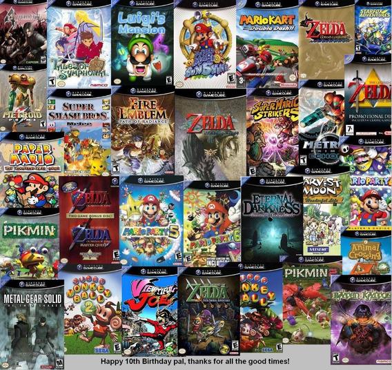 Super Promoção+ 500 De Gamecube Para Rodar No Wii - Melhores Jogos Já Lançados