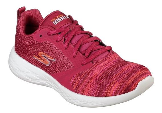 Zapatillas Skechers Go Run 600 Reactor Mujer * Depor *