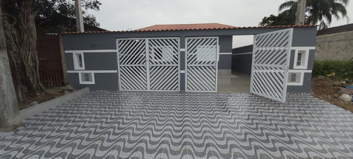 Imagem 1 de 14 de Casa Nova Geminada (mc,mv) 2 Quartos, 1 Suíte, 2 Vagas #794