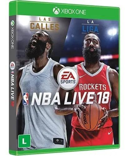 Jogo Nba Live 18 Br Xbox One Novo Lacrado