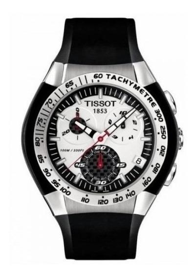 Reloj Tissot T0104171703100 Para Caballero Correa De Caucho