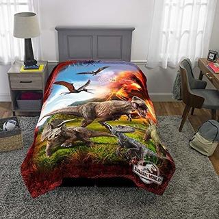 Cobertor Dinosaurios Edredón Cholcha Colchoneta Niños Doble