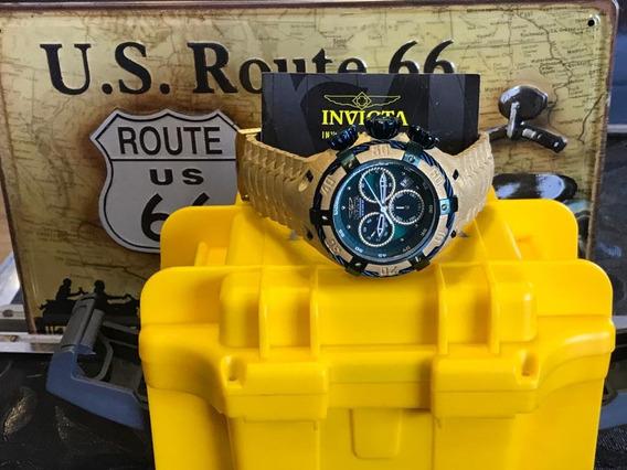 Relógio Invicta Thunderbolt 26668 Original Banhado A Ouro 18