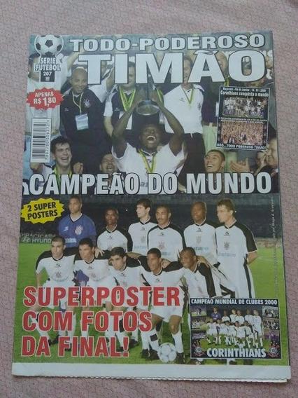 Revista Série Futebol Corinthians Campeão Mundial 2000