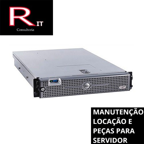 Servidor 2950 64gb Dell Poweredge Semi Novo Quad Core