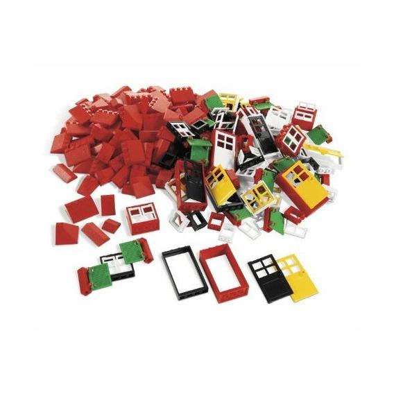 Lego Education Puertas, Ventanas Y Azulejos De Azotea Conjun