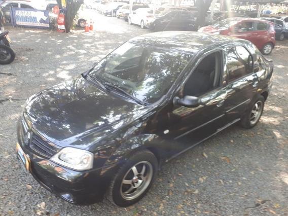 Renault Logan Motor 1.6 2009 Negro Nacarado 4 Puertas