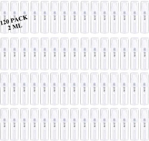 Imagen 1 de 7 de 120 Piezas 2 Ml Mini Atomizador De Per - mL a $1131