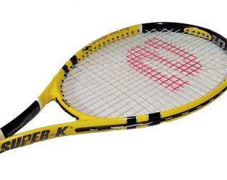 Raquete De Tênis - Super-k (original Lacrada)