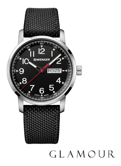 Relógio Wenger Attitude Heritage Preto 01.1541.105