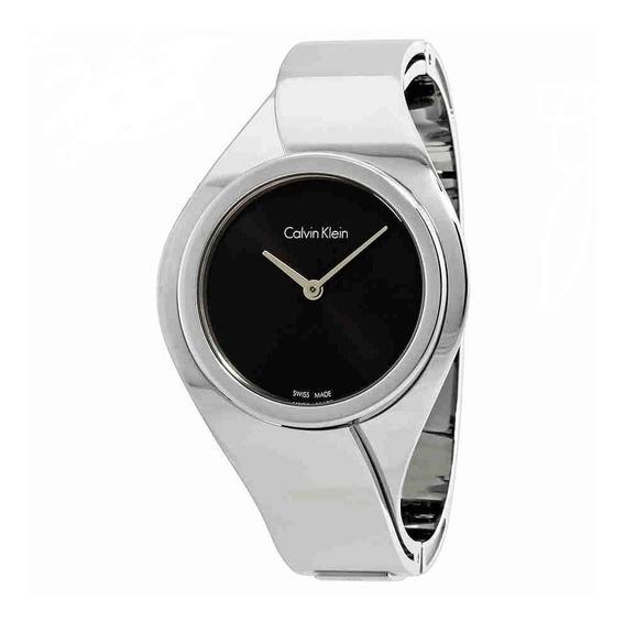 Reloj Calvin Klein Senses Silver K5n2s121 Mercadolídergold