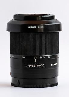 Lente Sony 18-70 Mm (3.5-5.6) A
