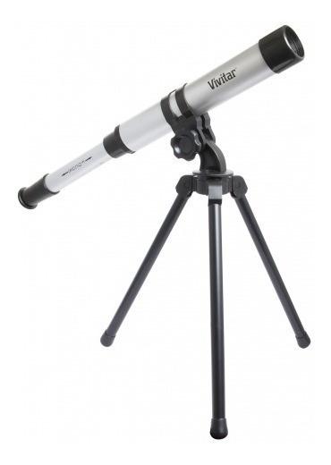 Telescópio Portátil C/ Ampliação 15x - Vivitar Vivtel30300