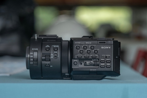 Sony Fs700r + Acessórios + Lente 28-70mm
