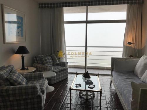 Apartamento En Muy Buena Ubicacion,en La Brava Con Vista Frente Al Mar - De 1 Dor, 1baños Y Cochera. Consulta!!!!!!!!- Ref: 2136