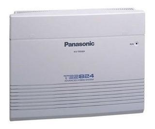 Planta Central Telefónica Panasonic Kx-tes824 3 Lineas 8 Ex