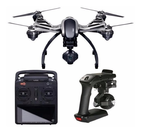 Drone Yuneec Typhoon Q5004k/st10+/cgo Steadygrip Câmera 12mp