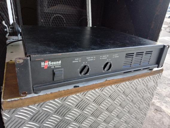 Amplificador Hotsound Hs900sx Potencia