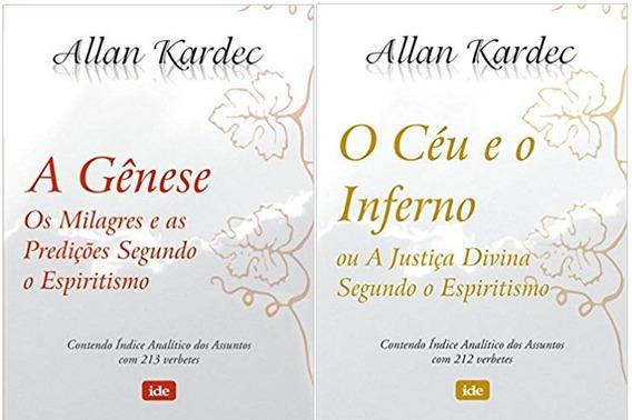 O Ceu E Inferno + A Genese Allan Kardec