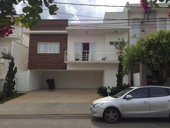 Casa/sobrado Mobiliado 3 Suítes À Venda, 330m², Residencial Aldeia Da Mata Em Votorantim/sp - So0375