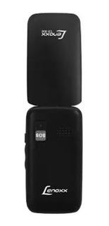 Celular Lenoxx Flip Cx908 Preto Dual Chip Tela 2,4 Lacrado