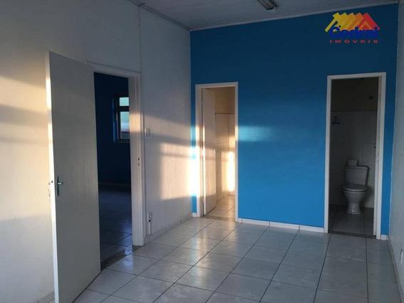 Casa Comercial Para Alugar, 102m² Por R$ 1.200/mês - Centro - Mogi Das Cruzes/sp - Ca0644