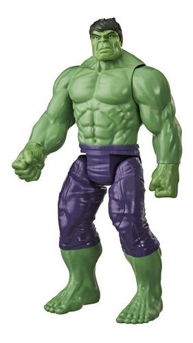 Imagem 1 de 3 de Boneco Avengers Titan Hero Hulk 30 Cm Original Hasbro