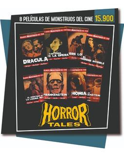 Colección 8 Dvds Monstruos Del Cine