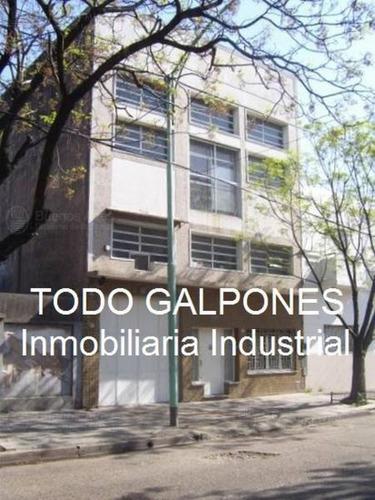 Imagen 1 de 13 de Galpón 600m2 S/lote 8,66x37 En 2 Plantas Zonif: M2 - Parque Avellaneda