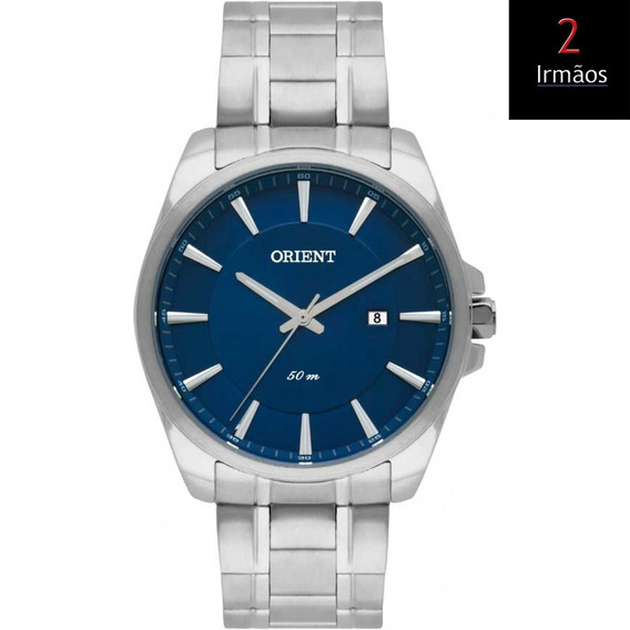Relógio Orient Prateado Casual Mbss1320