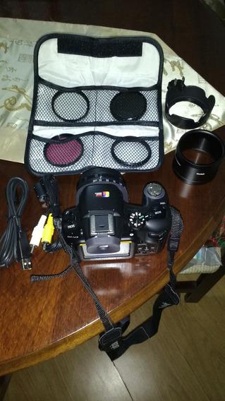 Kodak Easyshare P880 Com Filtros E Adaptadores