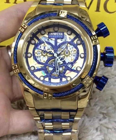 Relogio Invicta - Bolt Skeleton Azul