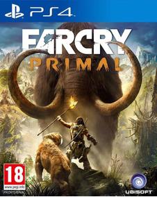 Far Cry Primal - Jogo De Ps4 - Psn 1 -