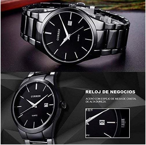 Reloj Para Hombres Diseño Ejecutivo Exclusivo Fechador Aut.
