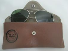 e93544fedbe6d Óculos Rayban Aviador Antigo Com Case Peça Vintage Anos 1980