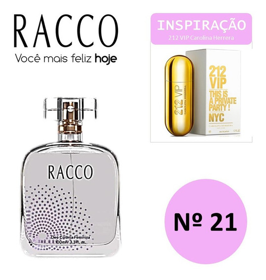 Trends Nº 21 100 Ml Racco ( Insp. 212 Vip. Femin)