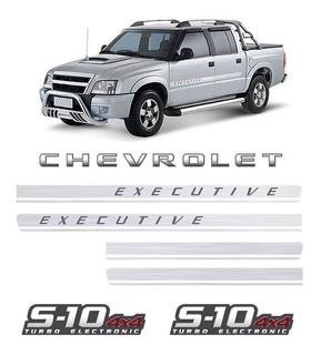 Kit De Faixas Chevrolet Executive S10 Turbo Eletronic 4x4