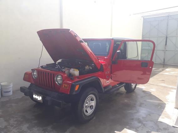 Vendo Mi Jeep Wrangler Tj Modelo 2006 Como Nuevo