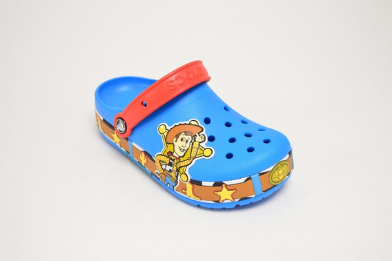 Clog K Fl Woody Lights Ocean Crocs Niño