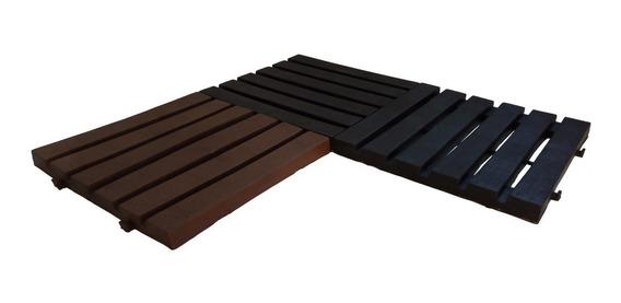 Deck Reciclado Ecológico Para Jardim Piscina Decoração
