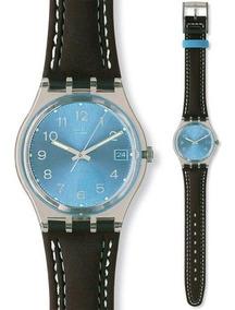 Relógio Swatch Blue Choco Gm415