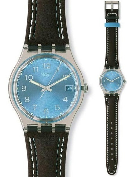 Relógio Swatch Blue Choco Gm415