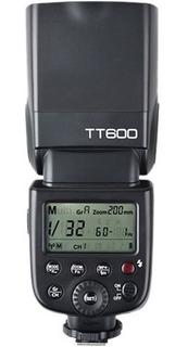 Flash Godox Tt600 ( Nikon Canon) Hss Msi