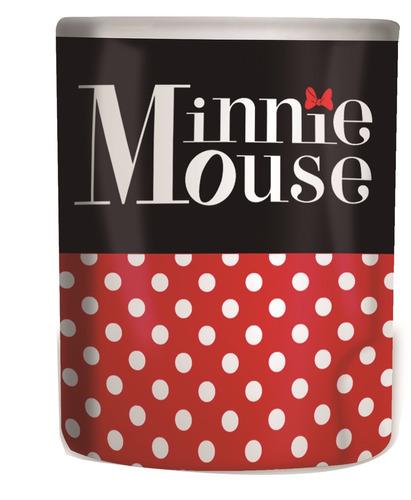 Imagem 1 de 3 de  Caneca Personalizada Minnie Disney 370 Ml Porcelana