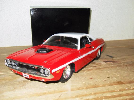 Dodge Challanger R/t 1970 Da Maisto Escala 1/24